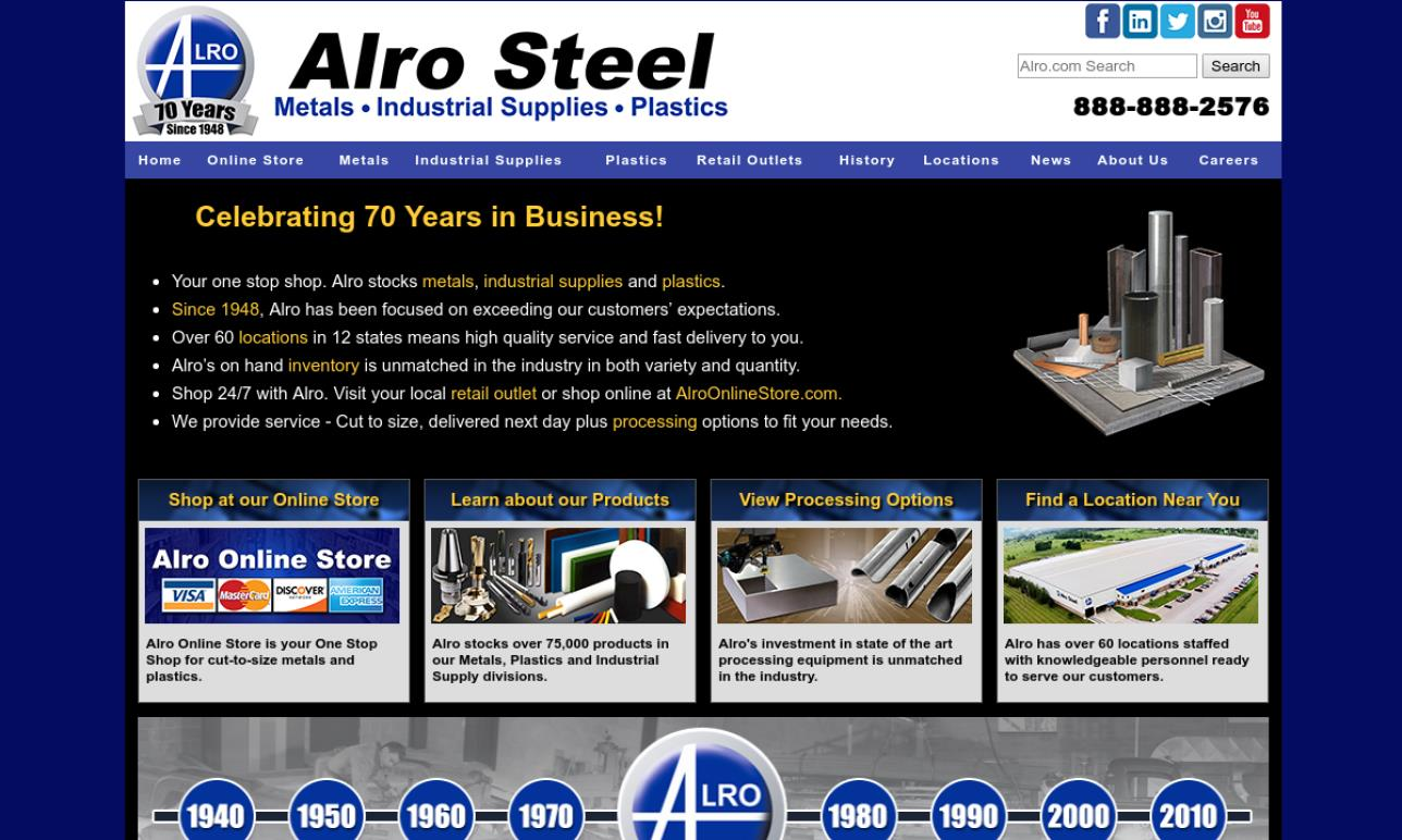 Alro Metals Outlet