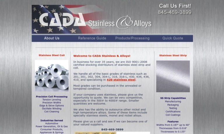 Cada Stainless & Alloys