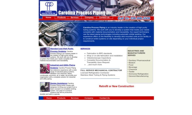 Carolina Process Piping Inc.