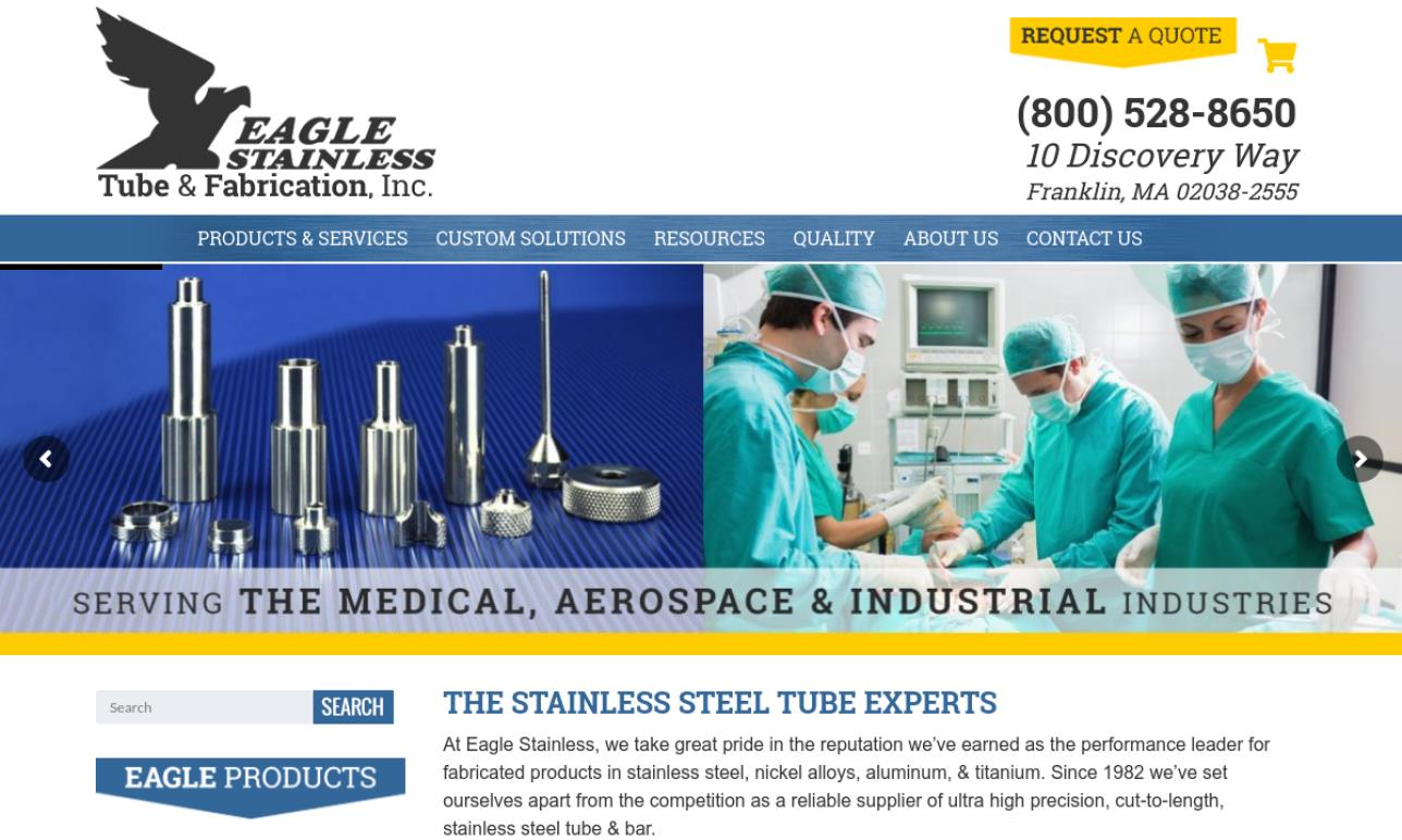 Eagle Stainless Tube & Fabrication, Inc.