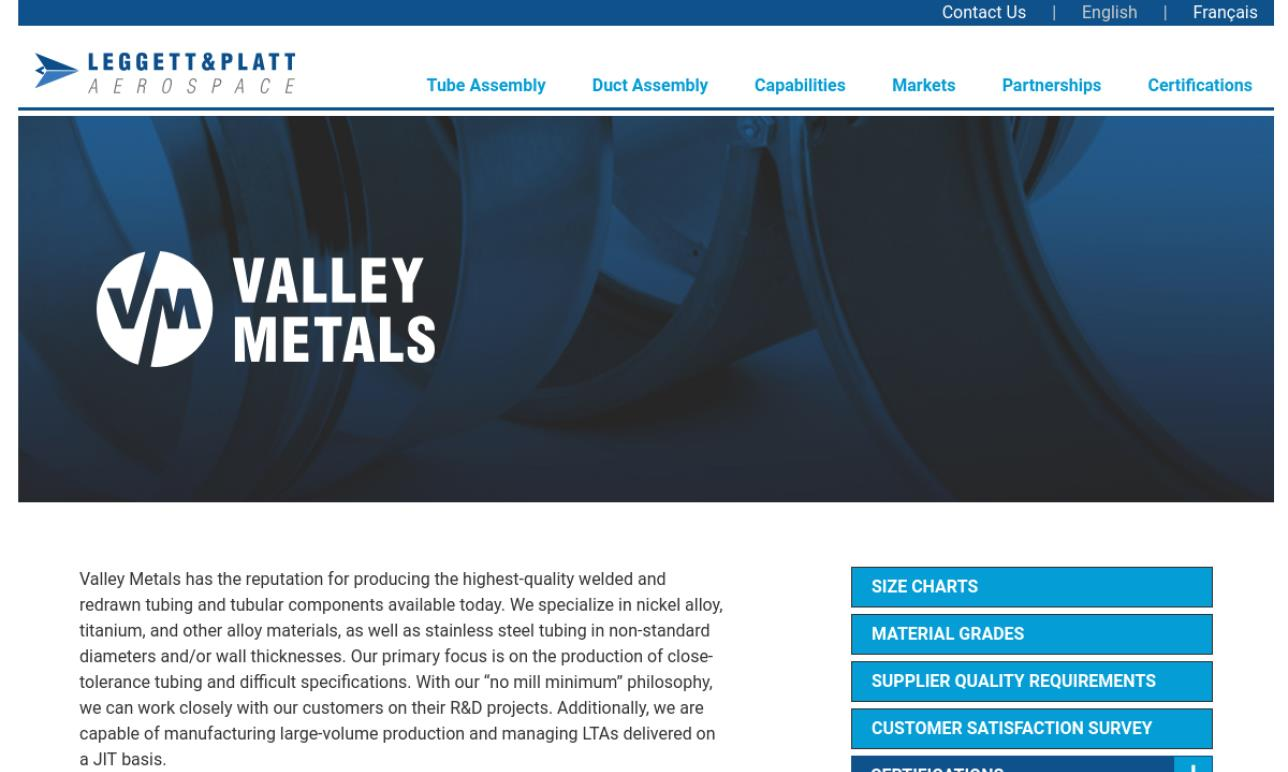 Valley Metals