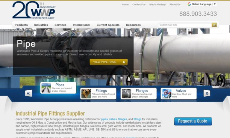 Worldwide Pipe & Supply