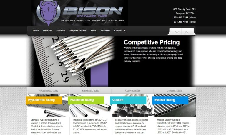 Bison Stainless Tube, LLC