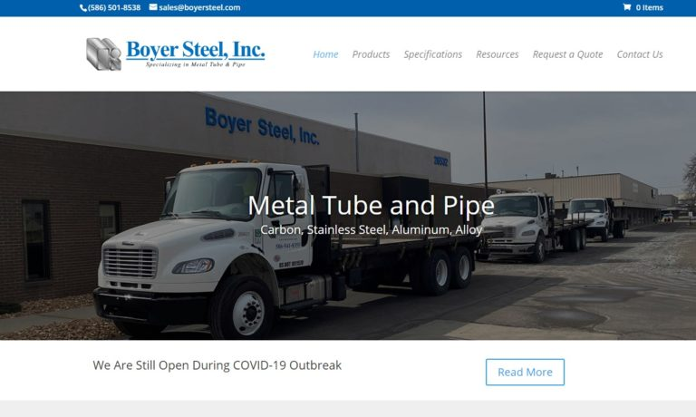 Boyer Steel, Inc.