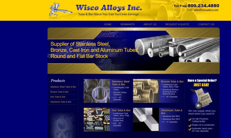 Wisco Alloys Inc.