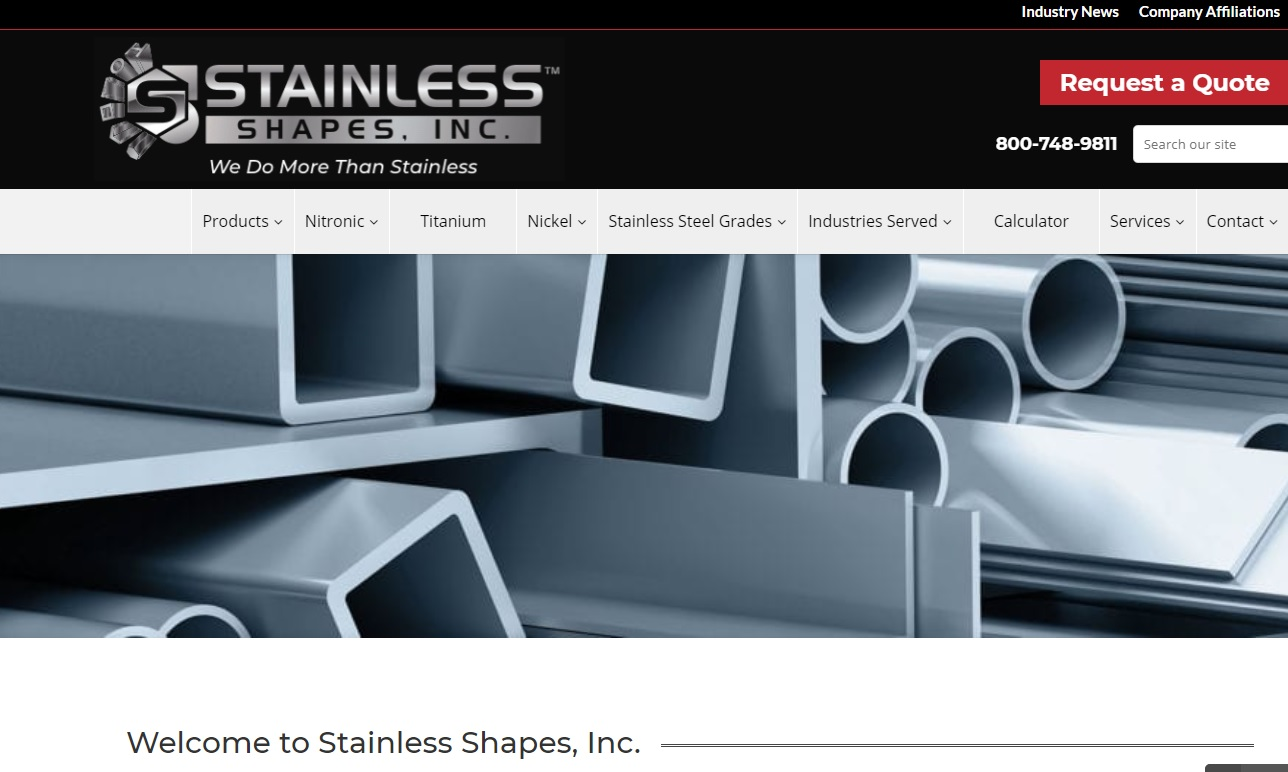 Stainless Shapes, Inc.