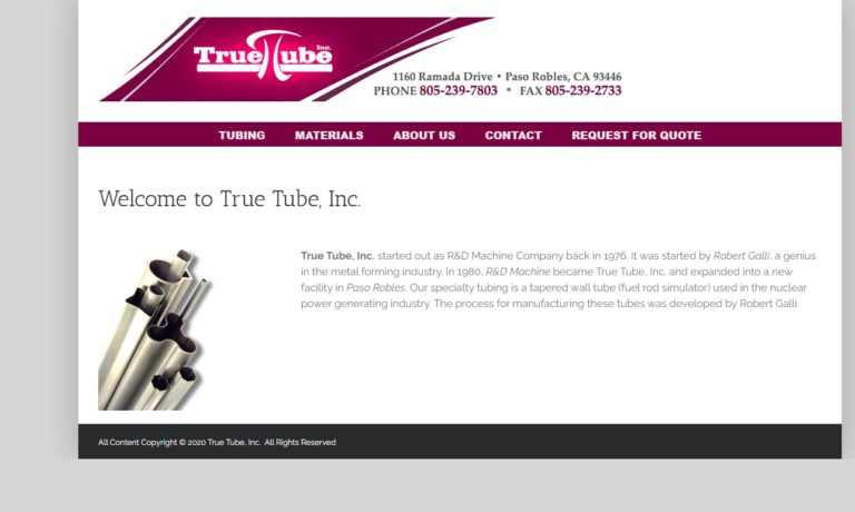 True Tube Inc.